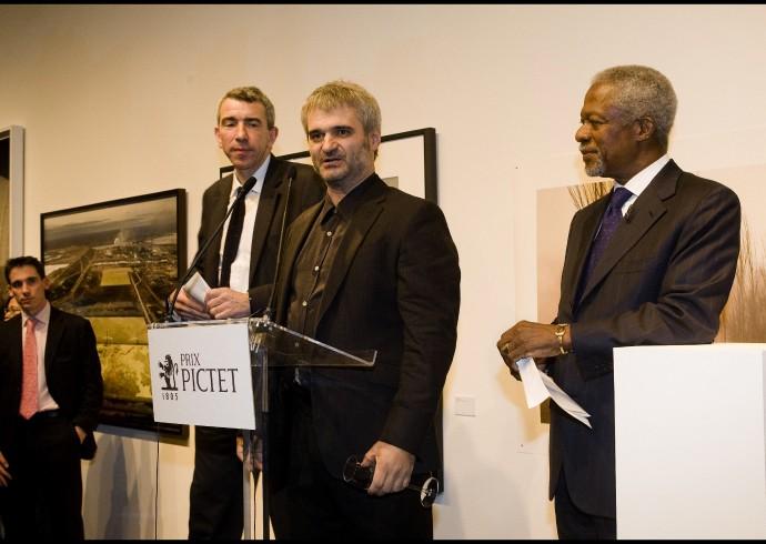 Benoit Aquin wins Prix Pictet Water