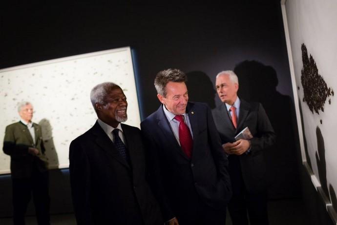 Kofi Annan interviewed in Le Temps by Caroline Stevan