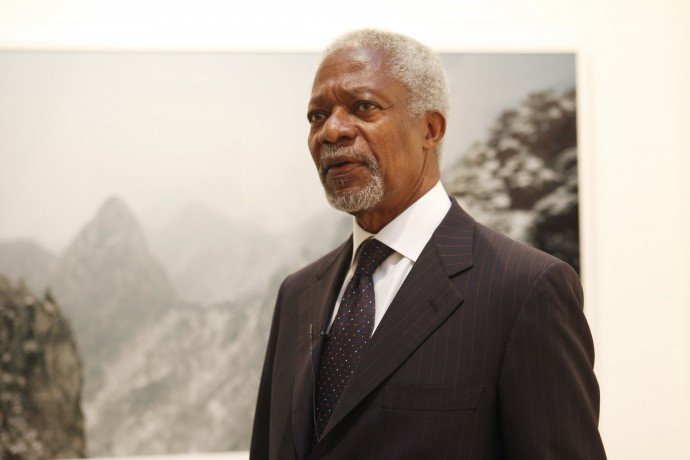 Kofi Annan to be Prix Pictet Honorary President
