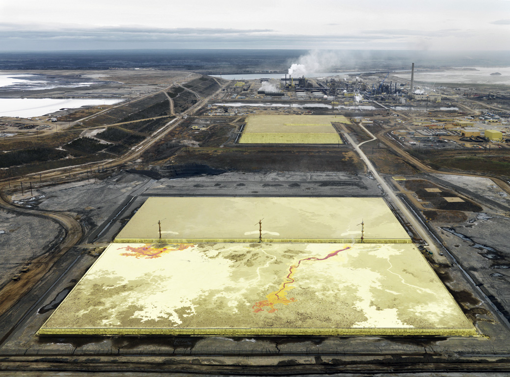 Edward Burtynsky Series: Oil Fields 2007, Fort McMurray, Alberta