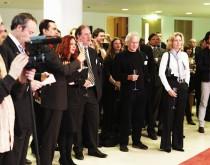 Brundtland applauds the Prix