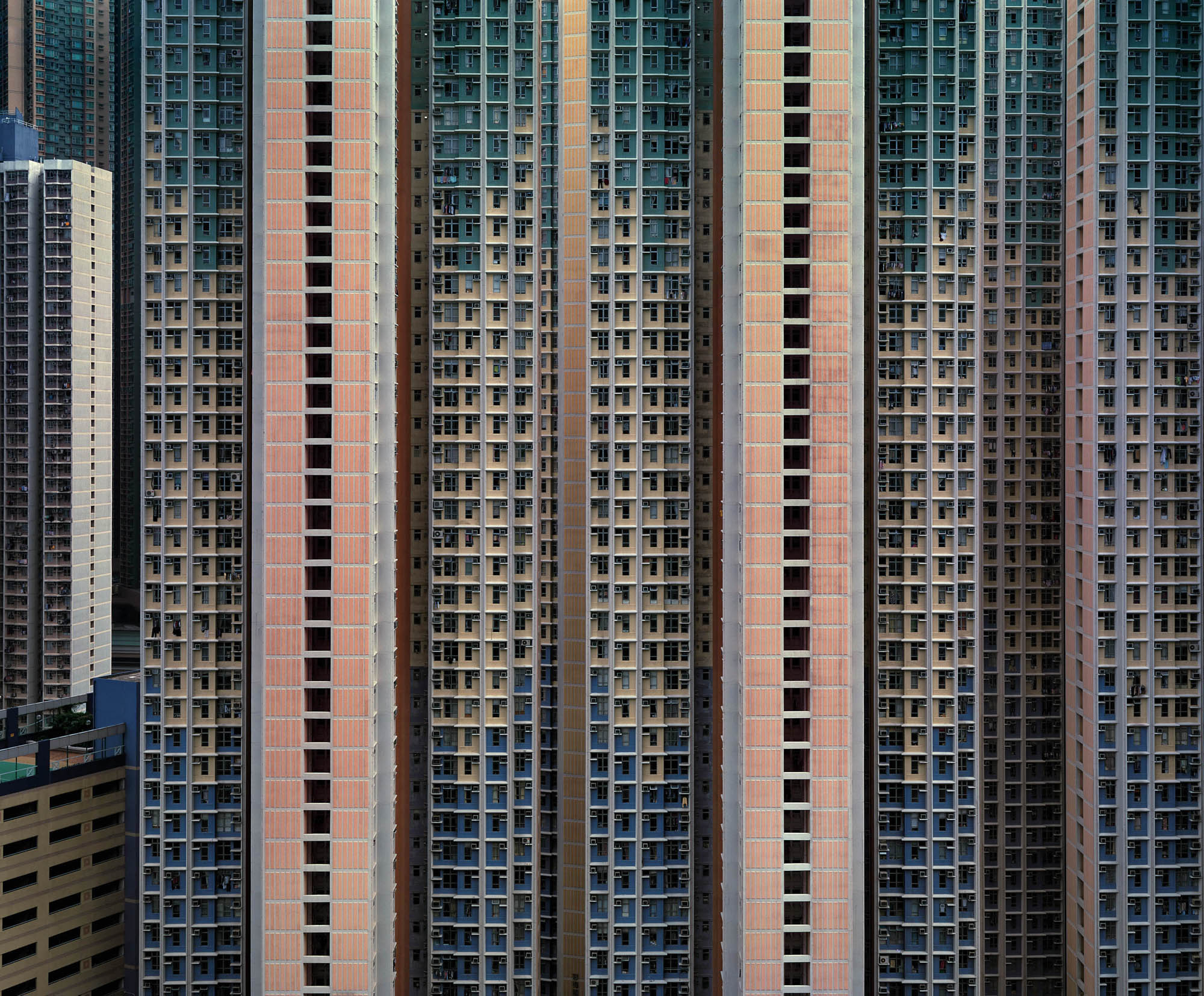Michael Wolf Series: Architecture of Density 2005-2009, Hong Kong