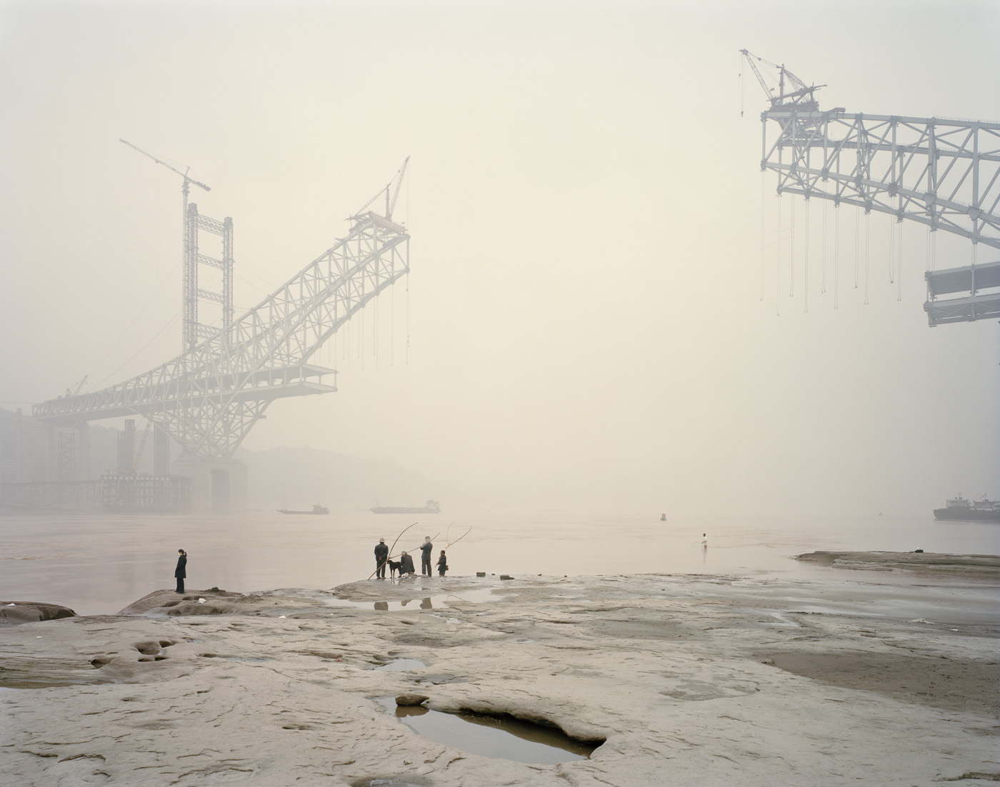 Nadav Kander Winner Series: Yangtze, The Long River 2006-2007, Chongqing, China