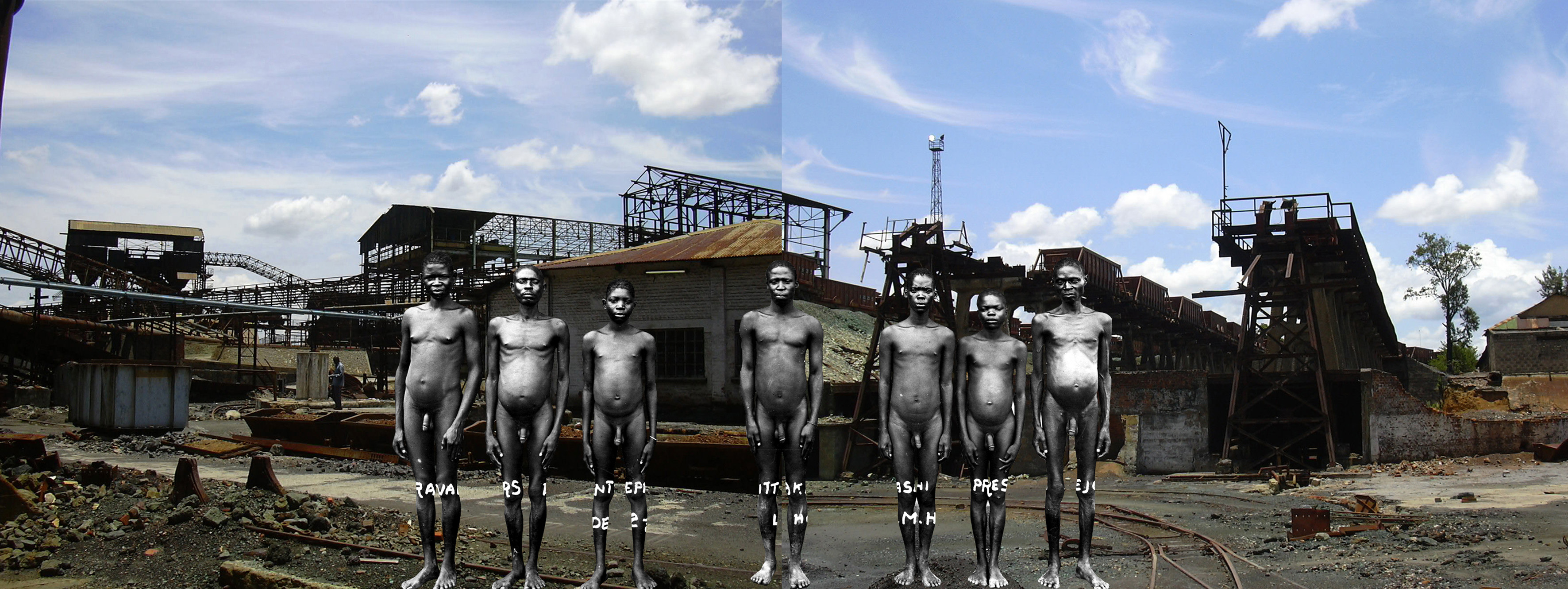 Sammy Baloji  Series: Memory 2006, Katanga, Congo